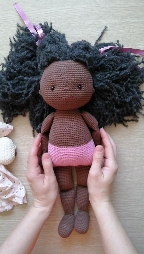 PATTERN Crochet Dolls. PDF Amigurumi Girl. Amigurumi Doll Pattern