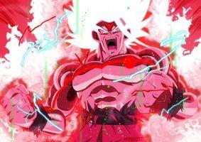 Omni Super Saiyan Goku Kaioken X100 V2 By Mitchell1406 Guerreiros Lendarios Dragon Ball Novos Guerreiros