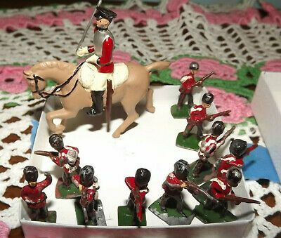 A Soldiers Christmas Cast  2020 eBay)(Sponsored) Lot of 10 Cast Iron Soldiers & 1 Soldier with