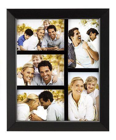 Look at this #zulilyfind! Nickel Five-Photo Expression Collage Frame ...