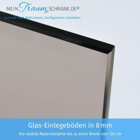 Glas Einlegeboden In 8 Mm In 2020 Schrank Rauchglas Glasboden