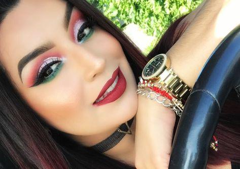 Cinco de Mayo Makeup Look IG : __inspiredbyv__