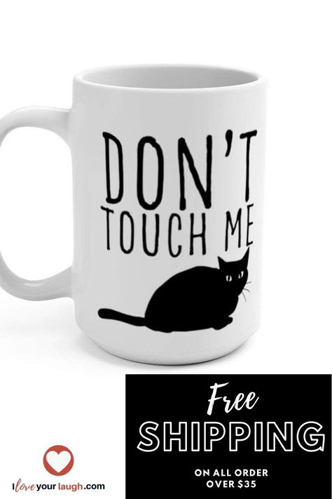 Cats are fantastically funny and wonderful. Find a perfect gift for your favorite cat loving friend. Be obsessed and cat blessed in with the I Love Your Laugh kitty collection.  #kitty #cat #iloveyourlaugh #furryfriend