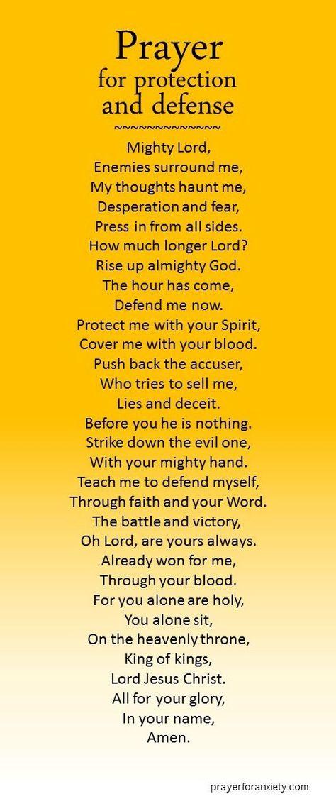 Spiritual Warfare ~ Prayer