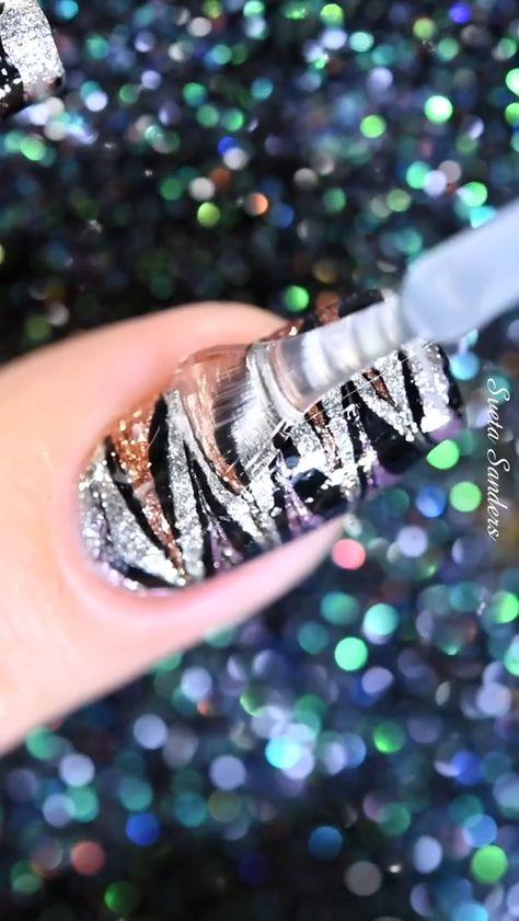 Gorgeous nail design inspo by @sveta_sanders