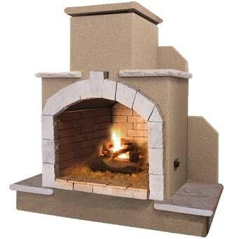Santa Cruz 2 Sided Bio Ethanol Outdoor Fireplace With Images