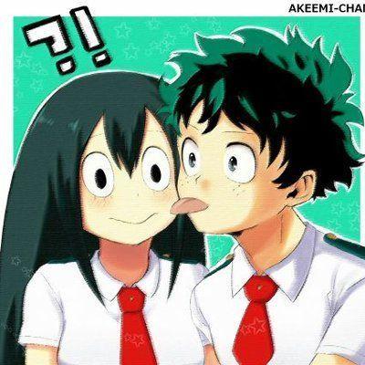Deku X Froppy Hero Love Story Chapter 6 The First Date Hero My Hero Anime