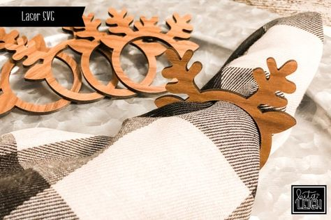 Laser Cutter Ideas, Laser Cutter Projects, Cnc Projects, Laser Cut Wood, Laser Cutting, Wood Laser Engraving, Wood Cutting, Cutting Files, Family Christmas Ornaments