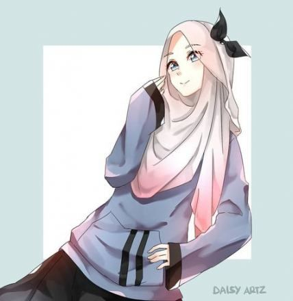 Trendy Drawing Quotes Unicorn Ideas Anime Muslimah Anime Muslim Drawing Cartoon Characters