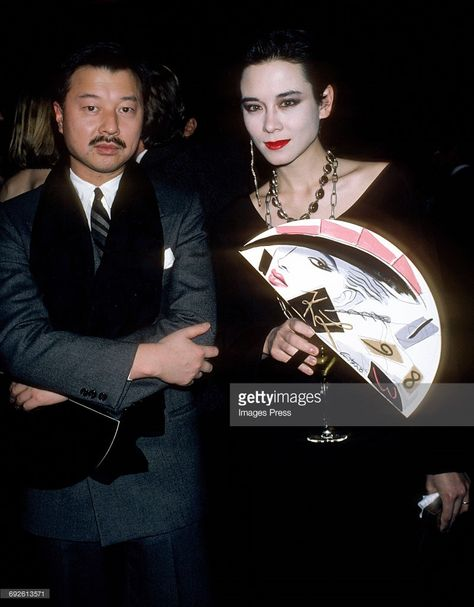 2020的michael Chow And Tina Chow Circa 1983 In New York City