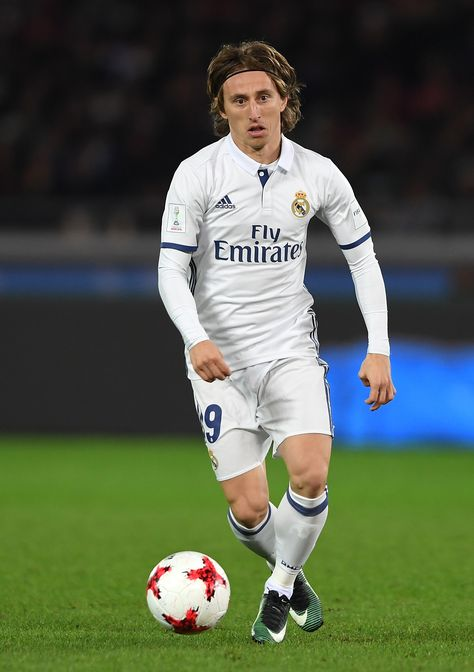5809ddb1e3f Joining the midfield 3 is Croatian international and Real Madrid ace Luka  Modric in his Nike Mercurial Vapor s from Nike s latest collection the Dark  ...