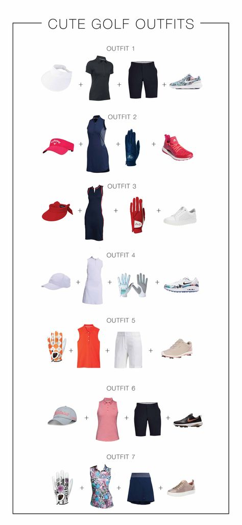 Strike the links in ladies's golf clothing including fresh colors and tailored silhouettes by Tory Sport. Shop the most up to date women's golf clothi. Golf Driver, Jogging, Cute Golf Outfit, Tennis, Active Wear, Womens Golf Shoes, Womens Golf Wear, Golf Attire, Golf Humor