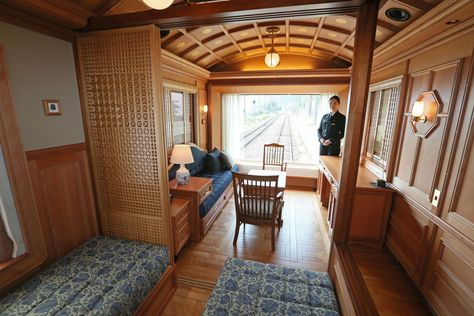 These Are Japan S Coolest New Trains Luxury Train Train Train Travel
