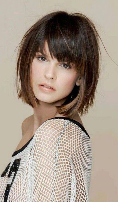 53 Latest Short Bob Haircuts for 2019 - Get Your Inspiration TODAY!, Latest Short Bob Haircuts Any girl can face a situation when deciding to make a new haircut, she learns about its irrelevance. But there are a number ..., Short Bob Cuts #BobHaircuts