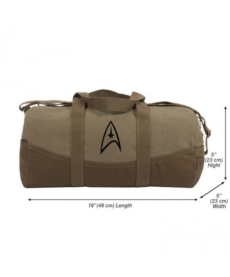 Heavyweight Cotton Canvas Outback Duffle Bag - Green - CB189TTQMLE in 2019   40ef280b5b72c
