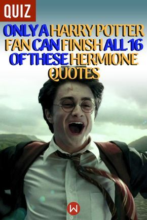 Quiz: Only A Harry Potter Fan Can Finish All 16 Of These