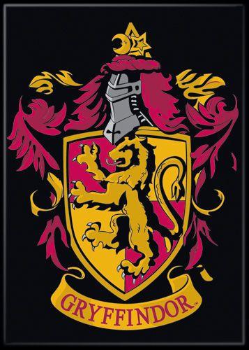 Harry Potter Photo Quality Magnet Gryffindor House Crest Harrypotter Potterhead Ebay Gryffindor Hogwarts Wappen Hogwarts
