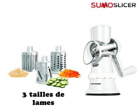 Sumo Slicer X2 Rape Trancheur Lame Robot Cuisine Copeaux De