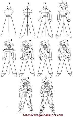 Como Dibujar A Goku Para Principiantes En Cuerpo Completo Paperblog Como Dibujar A Goku Dibujo De Goku Como Dibujar A Vegeta