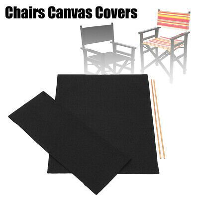 Chair Cover Outdoor Directors Chair Replacement Canvas In 2020 Patio Chairs Directors Chair Chair Cover