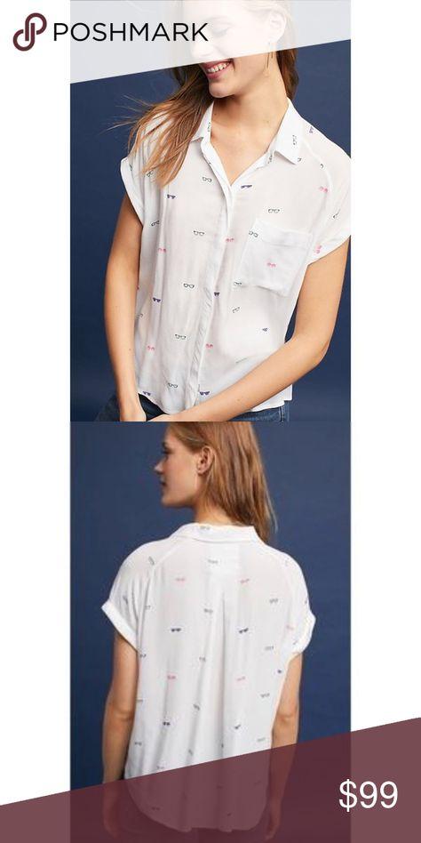 25d0117e6083 NWT Anthropologie rails sunglasses shirt NWT Anthropologie Tops Button Down  Shirts