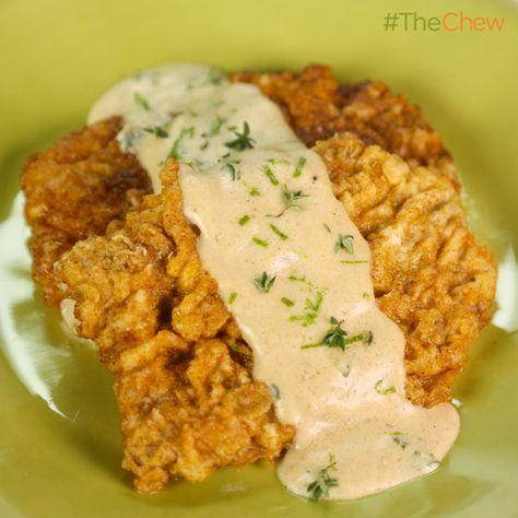 Michael Symon's Chicken Fried Steak #TheChew