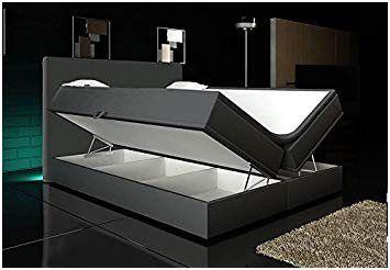 Fortgeschritten Boxspringbett Ohne Kopfteil Mit Bettkasten Boxspringbett Wohnen Luxus Bett Design Modern