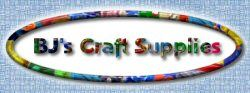 BJ's Craft Supplies. Large variety of discount craft supplies offering fast, quality, service and shipping. Click here to return to Home page.