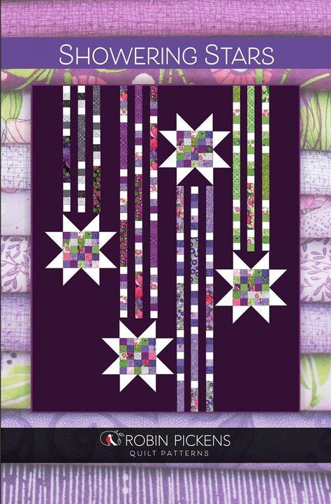 Robin Pickens Showering Stars Quilt Pattern