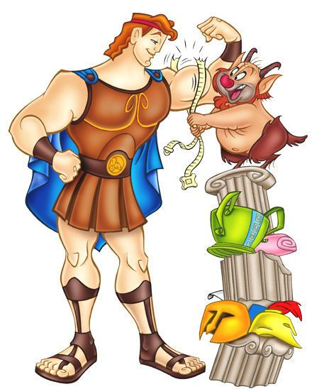 Hercules.Recortables Disney