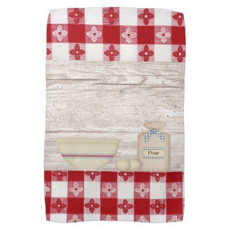 Country Baking Kitchen Towel Zazzle Com Kitchen Towels Towel