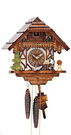 Kammerer Uhren Hekas Cuckoo Clock Black Forest House With Moving