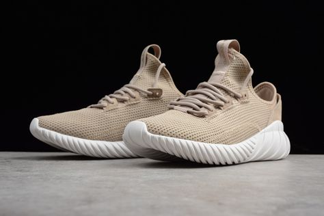 Brand New Adidas Tubular Doom Sock Primeknit Tan BY3562 – New Yeezy Boost eb7118e8c3