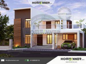 Homeinner Best Home Design Magazine Featuring Free House Plans 3d Home Elevation Design 3d Kerala House Design Small House Elevation Design House Design