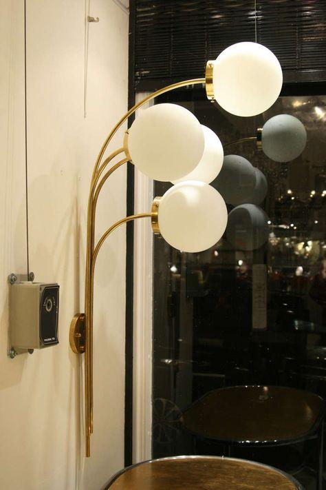 Pair Palle Quatro Prototype Wall Lights
