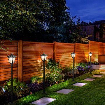 Lampa ogrodowa solarna stojąca wysoka lampion in 2020