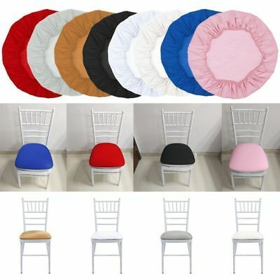 Spandex Chair Seat Covers Hood Removable Stretch Lunch Wedding Covers Kitchen
