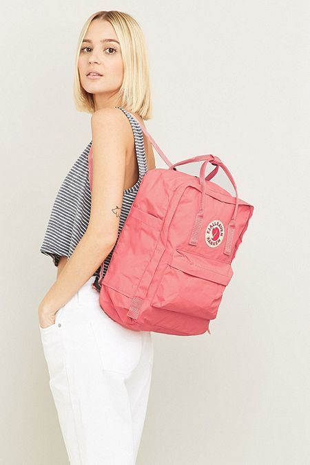 Shop Fjallraven Kanken Classic Pink Backpack at Urban Outfitters today. We carry all the latest styles, colours and brands for you to choose from right here.