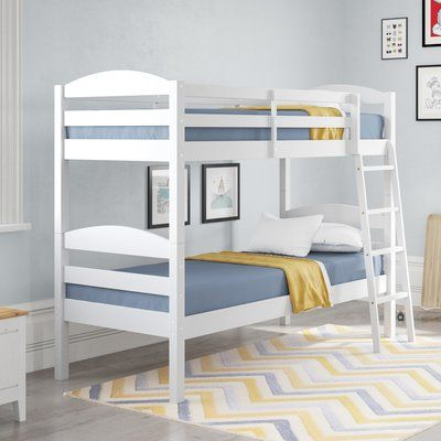Harriet Bee Fuentes Single Bunk Bed Bunk Beds Bunk Beds With