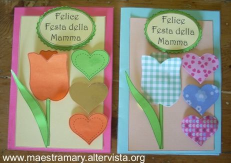 Festa Della Mamma Lavoretti Festa Della Mamma