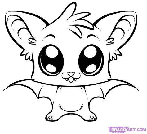 Drawing Portrait Tips Artists 21 Ideas Bat Coloring Pages Cute Coloring Pages Easy Animal Drawings
