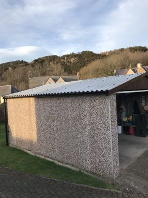 We Have Just Fitted This Brand New Garage Roof From Lidget Compton