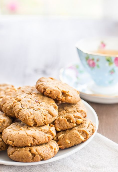 The ultimate vegan peanut butter cookie.