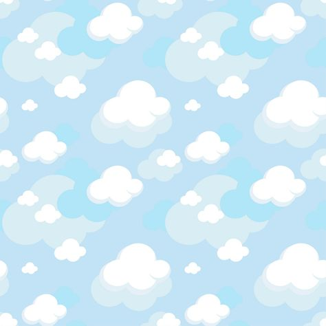 Pattern Cloud Background Vector EPS Free Download, Logo, Icons, Brand Emblems