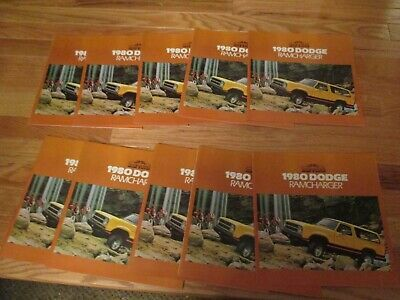 Volkswagon VW 1983 car auto Dealer showroom Sales Brochure catalog