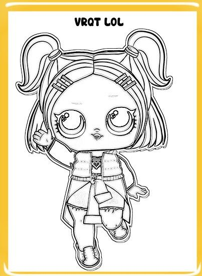 Dibujos Lol Suprise Para Colorear Confeti Pop Serie 3 Lol Y Dibujos