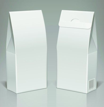 Download Free Elegant 3d White Paper Box Vector Template Titanui Paper Box Template Paper Box Templates Printable Free