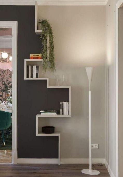 46 erstaunliche Bücherregale, die Ideen für Wohnzimmer verzieren #bucherregale #erstaunliche #homedecorationideas #ideen #bucherregale #deko ideen #deko ideen selbermachen #dekoideen wohnzimmer #die #erstaunliche #für #ideen #verzieren #wohnzimmer