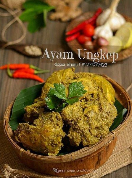 Ayam Ungkep Resep Masakan Masakan Resep