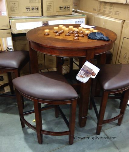 Universal Furniture 5 Piece Counter Height Checkerboard Dining Set Costco Frugalhotspot Furniture Pinterest Costco